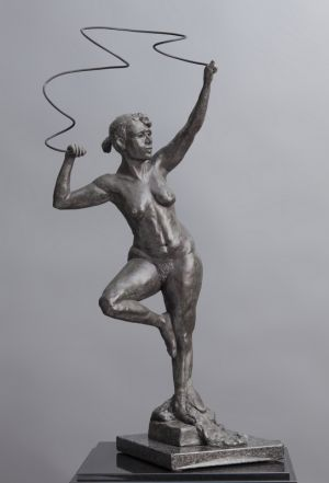 Female Figure with Ribbon